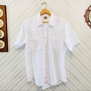 Vintage Ely Cattleman Western Button Down Shirt